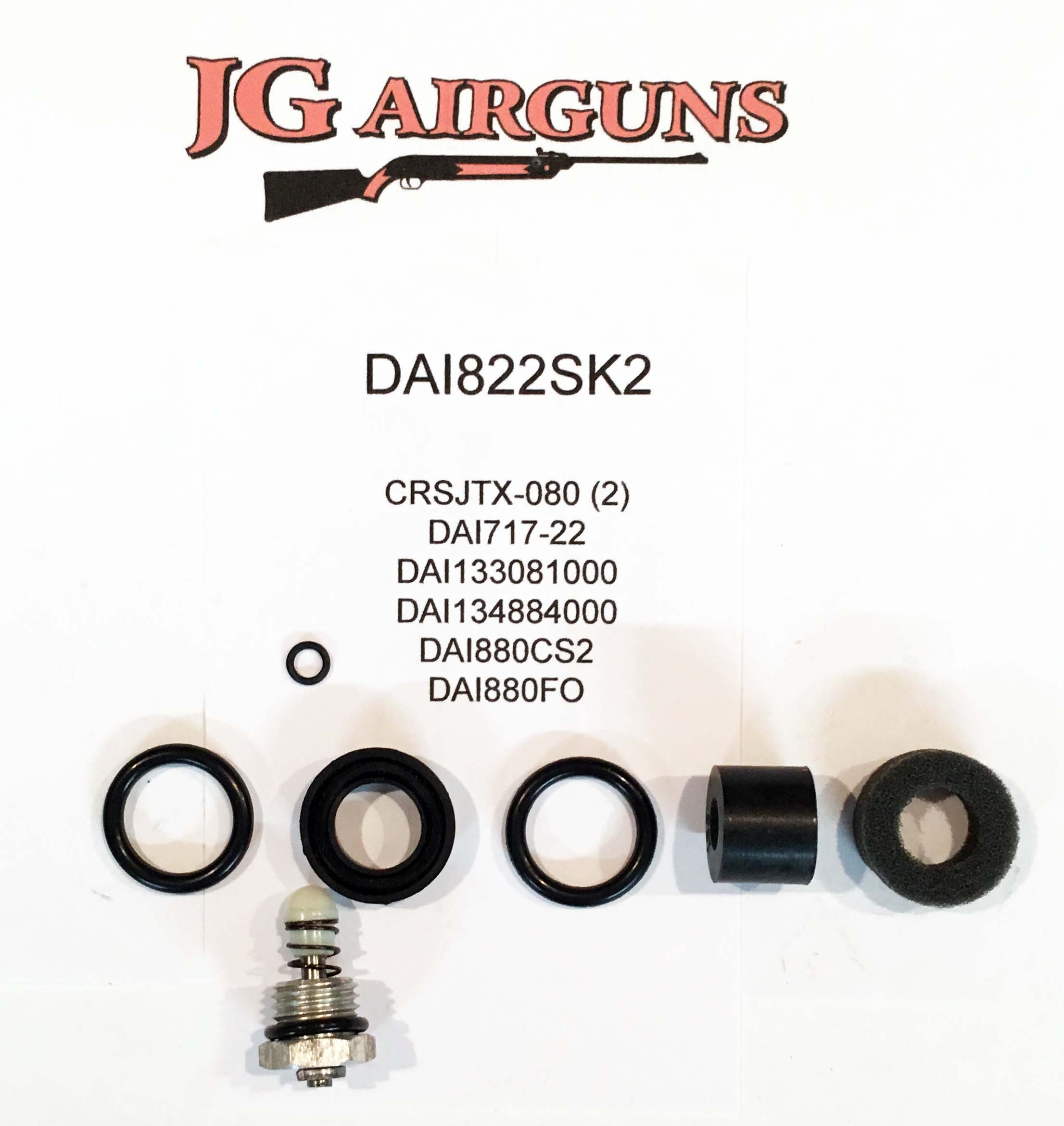 DAI822SK2 COMPLETE Seal Kit Wood stock version